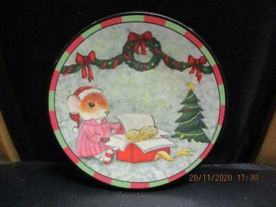 Yankee Candle THE NIGHT BEFORE CHRISTMAS -  SMALL PLATE - SANTA'S COOKIE PLATE • 4.99£