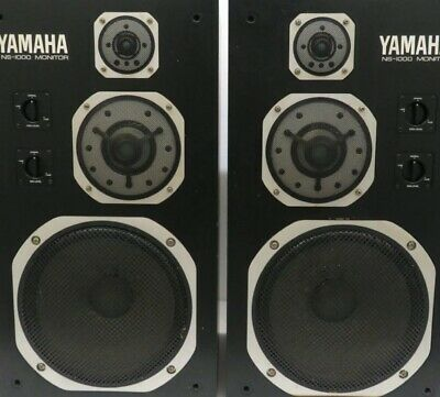 Legendary Yamaha NS-1000M Speakers, One Of The Finest Pairs You Will EVER See • 1,750£