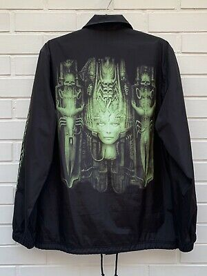 Supreme Hr Giger Print Coaches Jacket 2014 • 92£