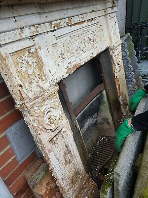 Victorian Cast Iron Fireplace In Need Of Restoration  • 99£
