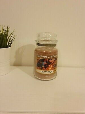Yankee Candle Large Jar -  Warm And Cosy - Christmas • 19.99£