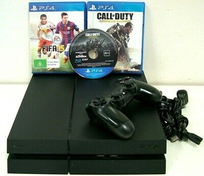 AU235.50 • Buy Sony PlayStation 4 PS4 1TB Game Console CUH-1202B + 1 Controller & 3 X Games