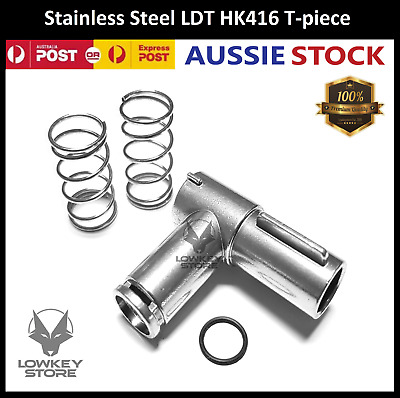 AU23.99 • Buy Stainless Steel LDT HK416 T-piece Upgrade Parts For Gel Blaster Toy Alloy Metal