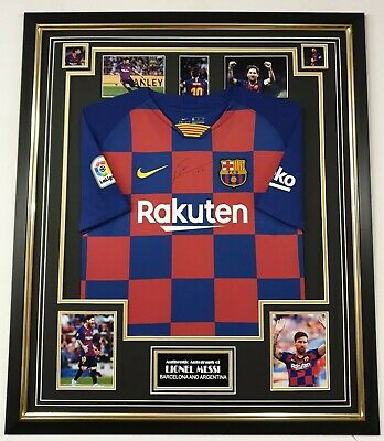 AU1074.49 • Buy ** Rare LIONEL MESSI Of Barcelona Signed Shirt Autographed Jersey ***