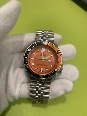 $ CDN232.34 • Buy Seiko Mod Custom Orange SKX Build NH36A Movement Divers