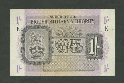 £15.95 • Buy BRITISH MILITARY AUTHORITY  1 Sh  WWII  Krause M2  About EF  Banknotes