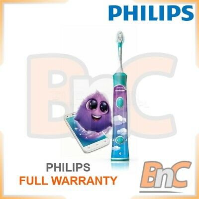 AU131.27 • Buy Sonic Toothbrush Philips Sonicare For Kids HX6322 / 04 Electric Rechargeable