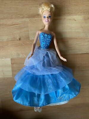 Barbie Cinderella Ballgown Surprise Disney Princess Mattel Doll 2010 With Shoes • 3.99£