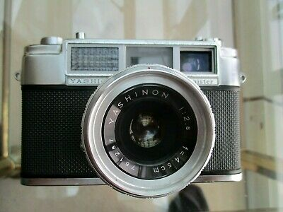 Yashica Minister 35mm Rangefinder 1960 +case. Tested, Fully Working • 12.50£