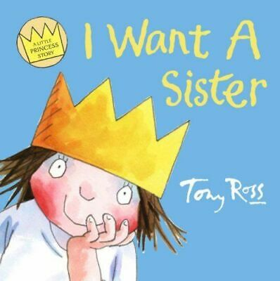 Preschool Bedtime Story: Little Princess: I WANT A SISTER - NEW • 2.95£