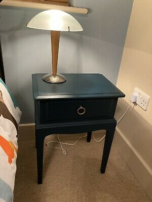 Stag Minstrel Mahogany One Drawer Bedside Table, Side Table, Cabinet • 60£