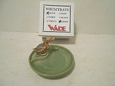 Wade Whim Trays Whimtrays - Duck - Green - New In Box • 10.13£