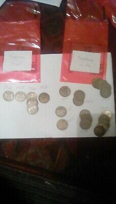 Sixpence Coins • 1.30£