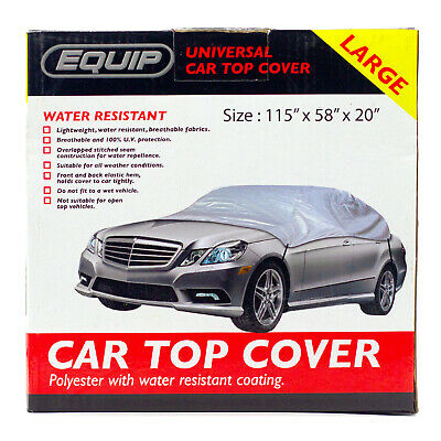 Car Top Cover Winter & Water Resistant Breathable UV Protection Large • 7.99£