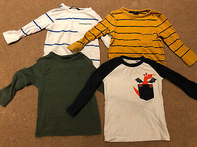 Boys Long Sleeve Top Bundle Age 18-24 Months From Blue Zoo And George • 1.50£