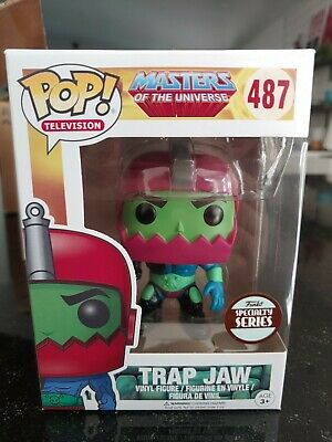 $18 • Buy Funko Pop Trap Jaw #487 Masters Of The Universe  Specialty Series