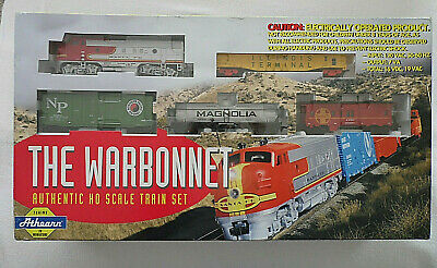 $ CDN116.77 • Buy Athearn The Warbonnet HO Scale Train Starter Set New