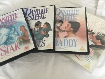 Bundle Danielle Steel's 4 DVD. Star, Daddy, No Greater Love, Changes • 5£
