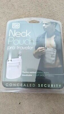 Go Travel Pro Traveller Neck Pouch - Brand New • 7.95£