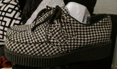 Houndstooth Creepers With Platform Size 6  • 6£