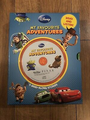 Disney My Favourite Adventures 5 Read Along Stories • 9.20£