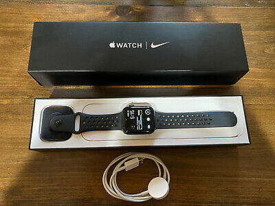 $ CDN268.50 • Buy Apple Watch Series 5 Nike 44mm Space Gray Aluminum Case With Anthracite/Black...
