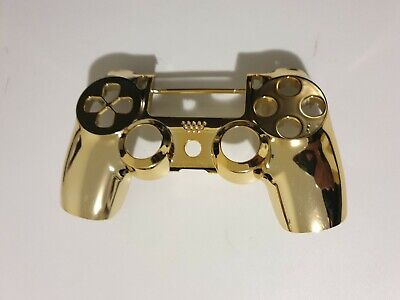 AU24 • Buy PS4 Dualshock Controller Front Shell Replacement Cover Gold