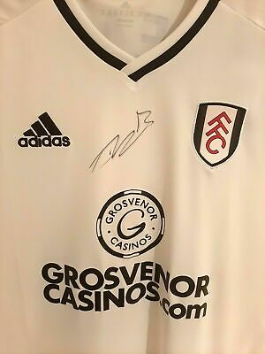 Fulham FC Signed Football Shirt By Tim Ream • 80£
