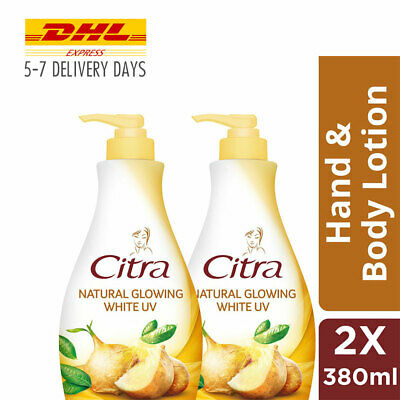 $ CDN46.46 • Buy 2x [CITRA] Body Lotion Skin Glowing Whitening Skin Yam Bean Green Tea UV 380ml