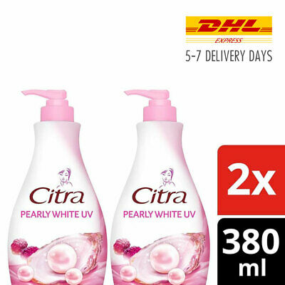 $ CDN46.46 • Buy 2x [CITRA] Korean Pearls Mulberry Body Lotion Pearly White UV 380ml