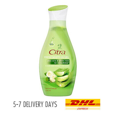 $ CDN27.08 • Buy [CITRA] Aloe Vera Rose Body Gel Lotion Fresh Whitening Skin Non Greasy 230ml