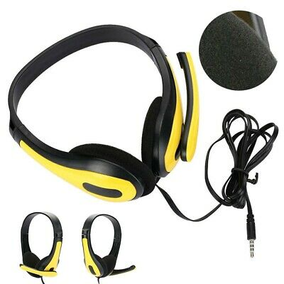£6.79 • Buy Over Ear Wired Gaming Headset Headphones With MIC Microphones For Mobile Phones