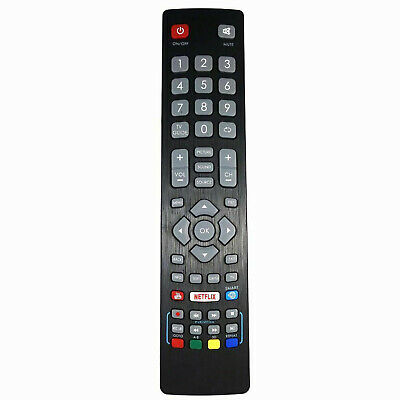 AU19.98 • Buy New BLFRMC0008 Remote Control For Blaupunkt Smart TV With NETFLIX YouTube Button
