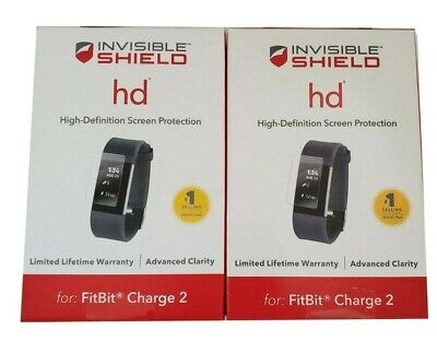 $ CDN9.16 • Buy ZAGG InvisibleShield HD Fitbit Charge 2 Screen Protector 2 Pack