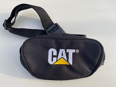 CATERPILLAR CAT Bum Bag / Waist Fanny Pack - Black • 19.99£