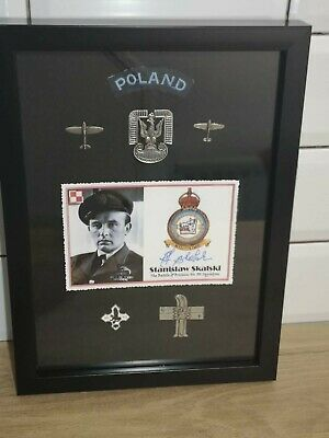 Skalski BoB Cyrk Skalskiego Ww2 Poland Polish Air Firce Badge Eagle Spitfire Raf • 29.99£