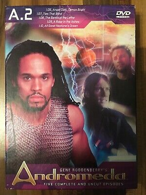 Andromeda A.2 Dvd Box Set Five Complete And Uncut Episodes • 4.80£