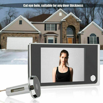3.5  LCD 120° Peephole Digital Door Viewer Camera Monitor.  • 23.95£
