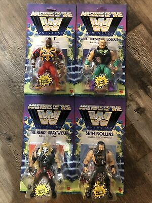 $109.99 • Buy WWE Masters Of The Universe Series 4 Set Of 4 Action Figures New Mattel