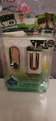 Bandai 36130 Ben 10 Omniverse PROTO-Scope Toy Plumber Tech . New. Tatty Box • 3.99£
