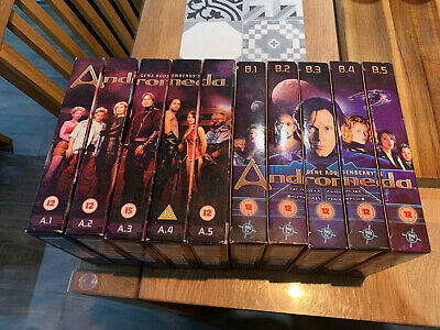 Andromeda Box Sets Season 1 And 2 Complete Amazing Condition • 70£