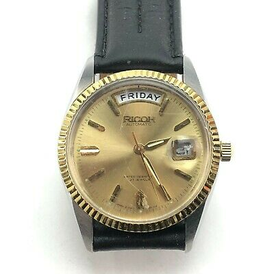 $ CDN38.91 • Buy Vintage Ricoh 21J Automatic Wristwatch Runs Great