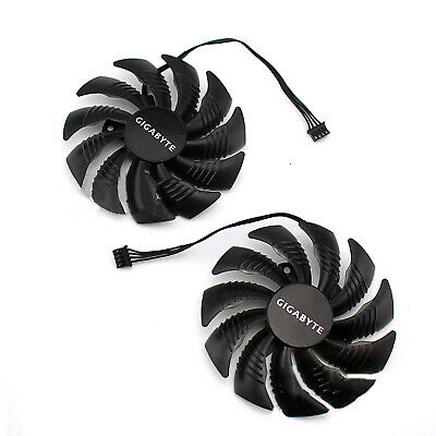 AU13.47 • Buy For Gigabyte GTX1060 1070 1080Mini ITX T129215SU Graphics Card Cooling Fan CT