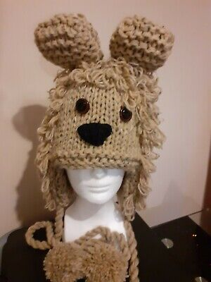 Knitted Lion Hat • 9.99£