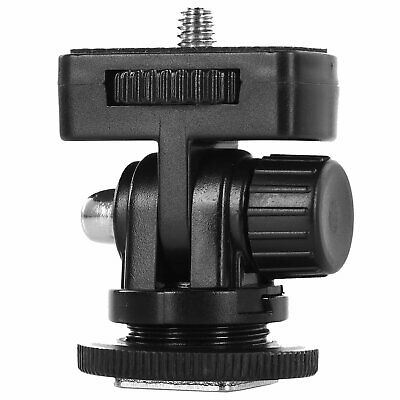 £2.95 • Buy Hot Shoe Mount Adapter 1/4  Screw Mini F Ball Head For DSLR Camera Rig Camcorder