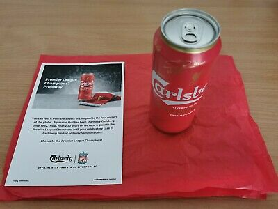 Liverpool Premier League Champions 2020 Limited Edition 500ml Can *EMPTY* • 9.99£