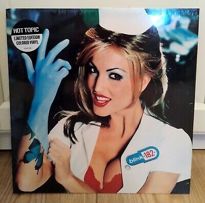 Blink-182 Enema Of The State Clear Red Blue Splatter Vinyl Record LP RARE 2016 • 86.11£