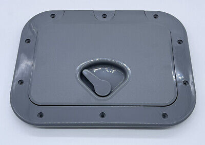 £23.99 • Buy Nuova Rade Hinged Boat Access/Inspection Hatch (375mm X 275mm) Grey