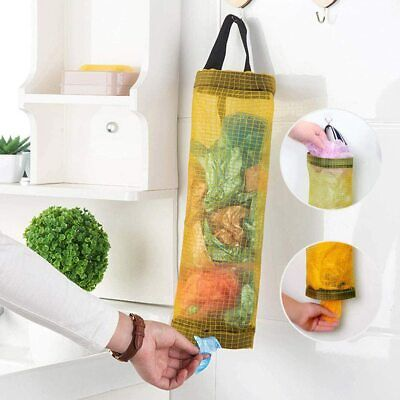Household Shopping Plastic Carrier Bags Storage Holder Store Kitchen Storage Bag • 3.49£