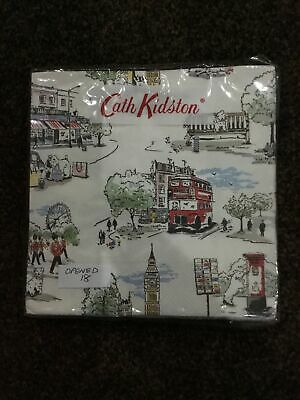 Cath Kidston Paper Napkins Billie Goes To Town • 3.20£